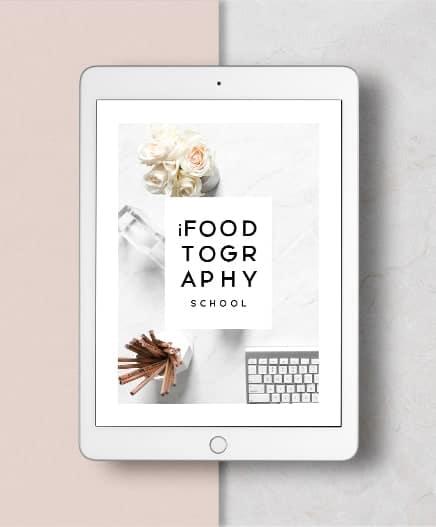 iPad of iFoodtography School